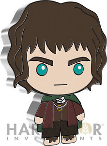 2021 CHIBI COIN - LORD OF THE RINGS SERIES: FRODO BAGGINS - 1 OZ. SILVER COIN