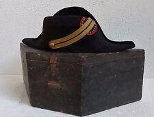 BICORNE POLYTECHNIQUE 3ème République avec boite d'origine