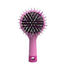 Mia Happy Brush, Detangling Brush + Mirror, for Kids, Moms, Travel, Light Pink