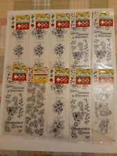 Delta Paint n Press Paint in Transfers Kit * 10 Packs New Sealed * Holiday Rose
