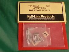 Keil-Line Models (Scale City Designs) O #4817 Hopper Car Offset Ribs For Weaver