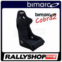 Racing Seat BIMARCO COBRA II BLACK VELOUR - CHEAP AND FAST DELIVERY