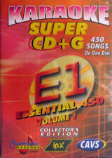 Karaoke Super CD+G  Essencial Chartbuster vol-1 450 Songs Play on CAVS or PC