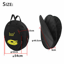 IRIN  Black Waterproof  Multi-Cymbal Bag w/Shoulder Strap & Pocket PRO