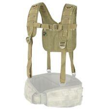 CONDOR MOLLE Modular Nylon 215-003  H-Harness Suspenders for Battle Belt - TAN
