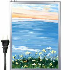 LED Light Box Movie Poster Display A2 59.4x42cm Advertising Frame Store
