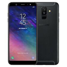 New Samsung Galaxy A6+ 2018 Dual-SIM SM-A605F 32GB Black Factory Unlocked 4G GSM