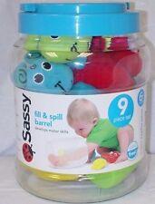 Sassy fill & spill toy