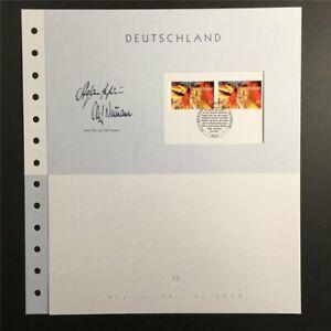 GERMANY ART-EDITION 2009/33 DEUTSCHLAND FLAG BANNER UNISSUED DRAFTS!!