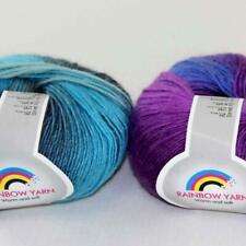 Sale 1Skeinsx50g Rainbow Chunky Colorful Shawls Wool Knitting Crochet Yarn 05