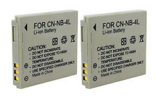 High Quality Generic Battery NB-4L 750mAh 3.7V Lithium Ion For Canon Camera 2x
