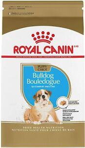 Royal Canin Breed Health Nutrition Bulldog Puppy Dry Dog Food 6LB