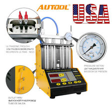 Hot Autool CT150 4-Cylinder Ultrasonic Fuel Injector Tester Cleaner Service Kit