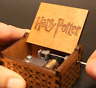 Music Box Vintage Handmade Engraved Wooden Music Box Christmas Craft Gift