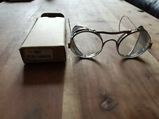 Antique Safety Glasses With Mesh Sides In Original Boxes