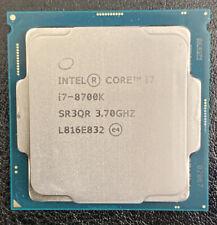 Intel Core i7-8700K 3.7 GHz 6-Core LGA 1151 Desktop Processor