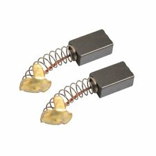 2 Pcs Electric Replacement Motor Carbon/Matal Brushes 7mm x 11mm x 18mm D8J4