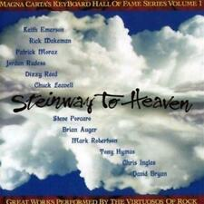 STEINWAY TO HEAVEN - V/A (New/Sealed) CD Prog Rock Emerson Rick Wakeman