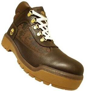 Men's Timberland Field Boot, A14L3 214 Multip Sizes Brown Leather & Textile RARE