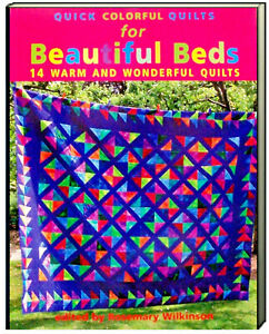 Quick Colorful Quilts for Beautiful Beds 14 Warm & Wonderful Quilts (Paperback)
