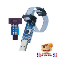 USBISP USBASP AVR Programmer Cable USB ATMEGA8 ATMEGA128 Arduino+ Adapter 10
