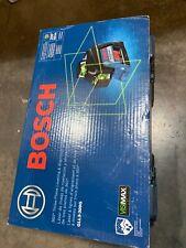 New Bosh 200 360 3 Plane Leveling Amp Alignment Line Laser Gll3 300g