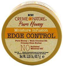 Creme of Nature, Pure Honey Moisture Infusion Edge Control Gel 2.25 oz