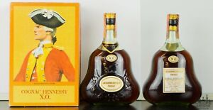 COGNAC HENNESSY X.O. HENNESSY & CO. ANNI '60/'70 75 CL 40°