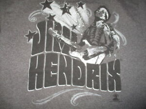 AL Style Label - 2010 JIMI HENDRIX (MED) T- Shirt ARE WE EXPERIENCED?