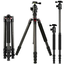Professional Camera Tripod Carbon Fiber Monopod for Canon Nikon DSLR HOT