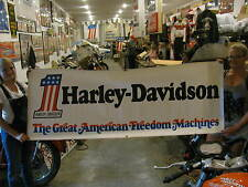 Harley Davidson Display Sign Poster Banner The Great American Freedom Machine #1