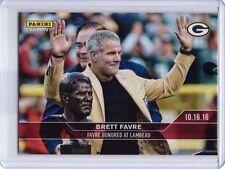 2016 Panini Instant NFL Football #126 Brett Favre Commemorative Card - 79 made!
