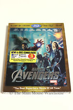 Marvel The Avengers 3D Blu-ray DVD and Digital Copy with Music No Slipcover
