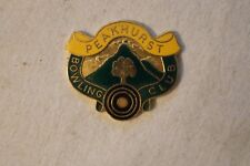 Collectable - Peakhurst Bowling Club - Members Badge
