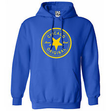 Chicago Original Inverse HOODIE - Hooded Born & Bred in Sweatshirt - All Colors