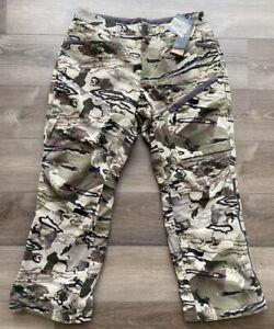 Under Armour Mens UA Grit Barren Camo Hunting Coldgear Pants Size 34 1347443-999