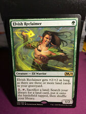 MTG Magic Card Rare Elvish Reclaimer M20 - Core Set 2020 #169 Mint 💎✔🔎