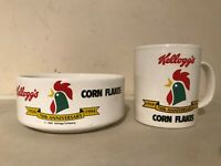 Vintage Kelloggs Anniversary Mug & Bowl 1924-1994 Cereal Bowls Retro Kitchinalia