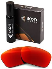 Polarized IKON Iridium Replacement Lenses For Oakley Necessity + Red Mirror