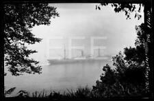 8/16/30 SS Steel Navigator Ocean Liner Ship Old Photo Negative 368B