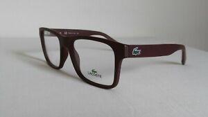 LACOSTE L2793-604 Designer Eyeglasses Glasses Frames Matte Burgundy