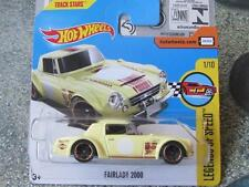 Hot Wheels 2017 #022/365 FAIRLADY 2000 yellow HW Legends of speed New Casting