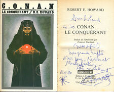 Robert Howard - Conan le conquérant - EO 1980 - dédicace - Nicollet
