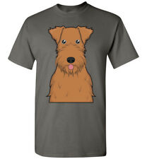 Irish Terrier Dog Cartoon T-Shirt Tee - Men Women Ladies Youth Kids Tank Long