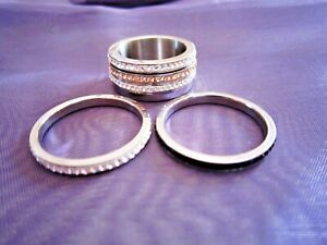 Interchangeable Ring with Swarovski Crystals