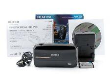 NEARMINT!! Fujifilm FinePix REAL 3D W3 10.0MP Digital Camera - Black/646889