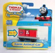 Thomas Fisher Price Take-n-Play (Portable railway) Die-Cast FARM ANIMAL CAR nip.