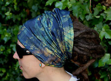 Kaleidoscope Dreadlock Headband/dread sock/wrap - Lightweight, soft, comfortable