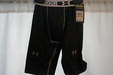 UNDER ARMOUR Heatgear Sports Jock Strap Shorts Small NWT * MSRP $65 *