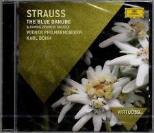 """BOHM """"STRAUSS: THE BLUE DANUBE"""" CD 2011 deutsche grammophon sealed"""